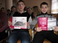 В Дніпродзержинську продовжується боротьба к кліматичною несвідомістю